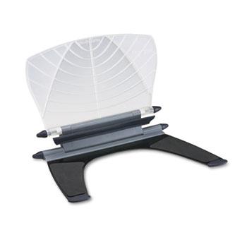 Kensington® Insight In-Line Desktop/Platform Copyholder w/SmartFit System, Metal, White