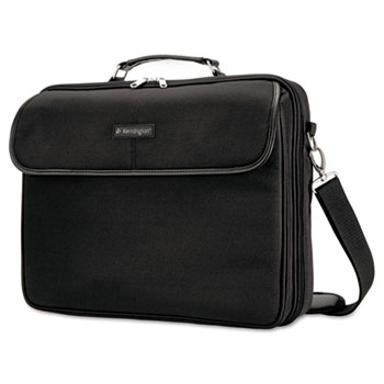 Kensington® Simply Portable 30 Laptop Case, 15 3/4 x 3 x 13 1/2, Black