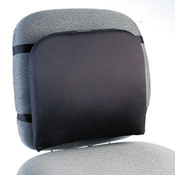 """Kensington® Memory Foam Backrest, 16""""w x 12""""d x 16""""h, Black"""