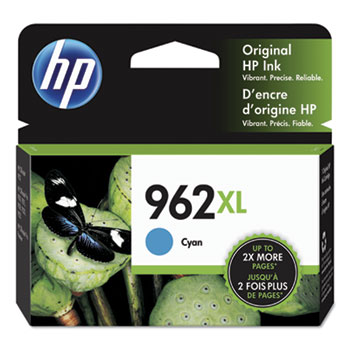 962XL Ink Cartridge, Cyan (3JA00AN)