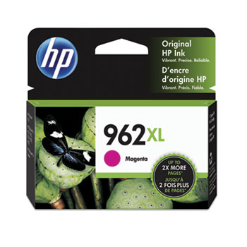 962XL Ink Cartridge, Magenta (3JA01AN)