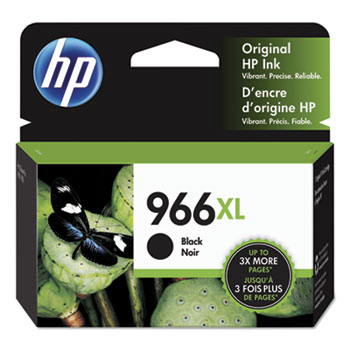 966XL Ink Cartridge, Black (3JA04AN)