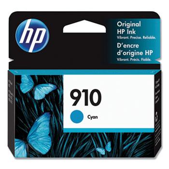 910 Ink Cartridge, Cyan (3YL58AN)