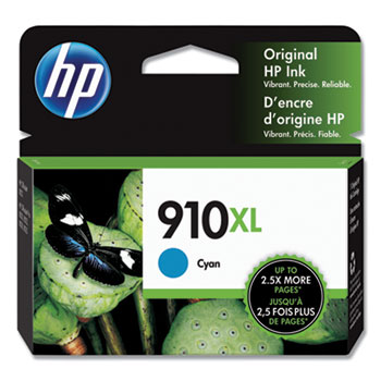 910XL Ink Cartridge, Cyan (3YL62AN)