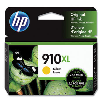 910XL Ink Cartridge, Yellow (3YL64AN)
