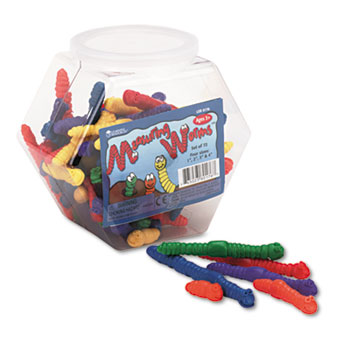 Learning Resources® Measuring Worms, Math Manipulatives, for Grades Pre-K and Up