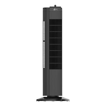 """Alera® 28"""" 3-Speed Tower Fan, Plastic, Black"""