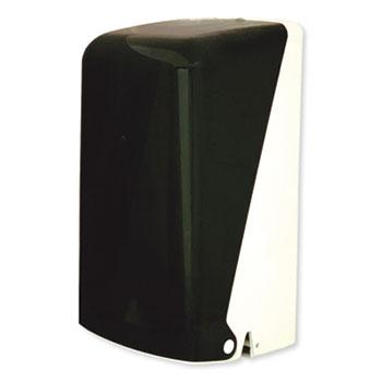 "Two Roll Household Bath Tissue Dispenser, 5.51"" x 5.59"" x 11.42"", Smoke"