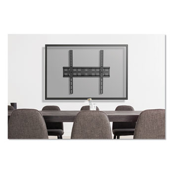 """Innovera® Fixed and Tilt TV Wall Mount for Monitors 32"""" to 55"""", 16.7w x 2d x 18.3h"""