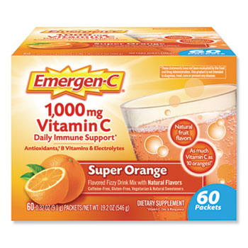 Immune Defense Drink Mix, Super Orange, .3oz Packet, 50/Pack