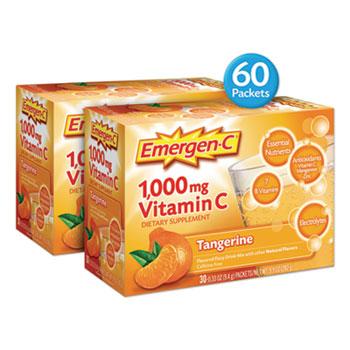 Immune Defense Drink Mix, Tangerine, 0.32 oz. Packet, 60/PK