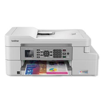 Brother MFCJ805DWXL INKvestment Printer, Capy/Fax/Print/Scan