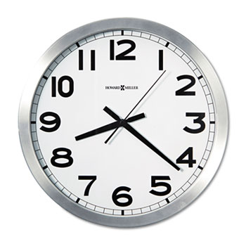"Howard Miller® Round Wall Clock, 15-3/4"""