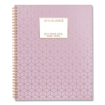 AT-A-GLANCE® Badge Geo Weekly/Monthly Planner, 11 x 8.5, Badge Geo, 2021