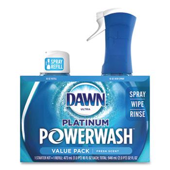 Dawn® Platinum Powerwash Dish Spray, Fresh, 16 oz Spray Bottle, 2/Pack