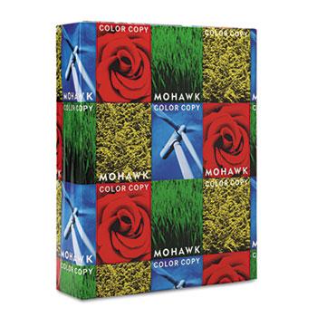 Mohawk Copier 100% Recycled Paper, 94 Brightness, 28lb 8-1/2x11, White, 500 Shts/Rm