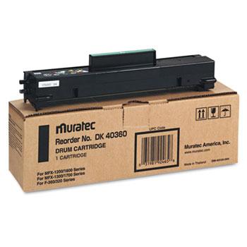Muratec™ DK40360 Drum Kit, Black