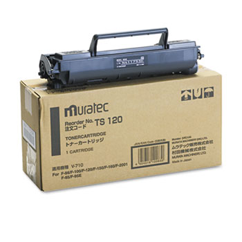 Muratec™ TS120 Toner, 5500 Page-Yield, Black
