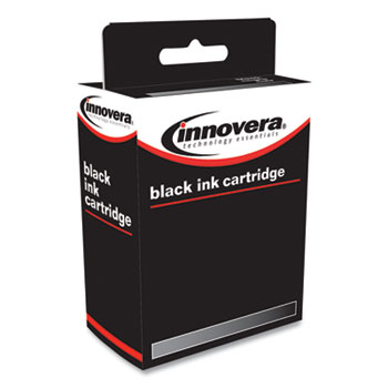 Innovera® Remanufactured Black Ink, Replacement for HP 932 (CN057A), 400 Page-Yield