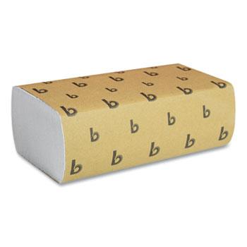 Boardwalk® Multifold Paper Towels, White, 9 x 9 9/20, 250 Towels/Pack, 16 Packs/Carton