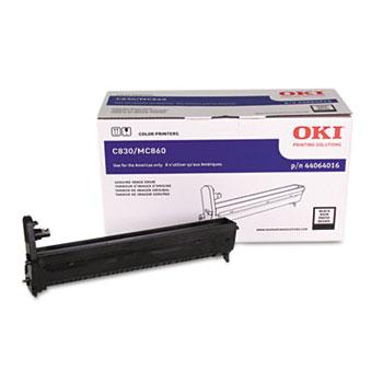 Oki® 44064016 Drum, Black