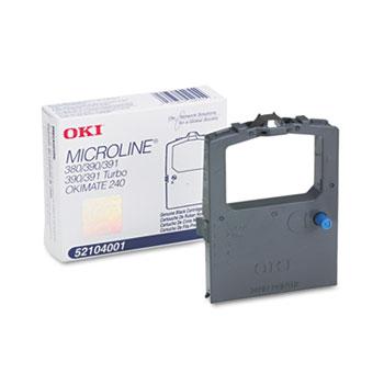 Oki® 52104001 Ribbon, Black