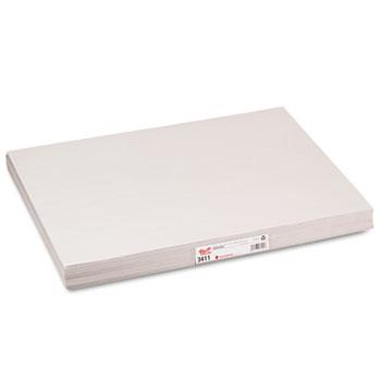 Pacon® White Newsprint, 30 lbs., 18 x 24, White, 500 Sheets/Pack
