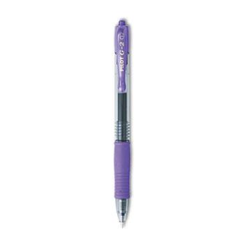 G2 Premium Retractable Gel Ink Pen, Refillable, Purple Ink, .7mm, Dozen