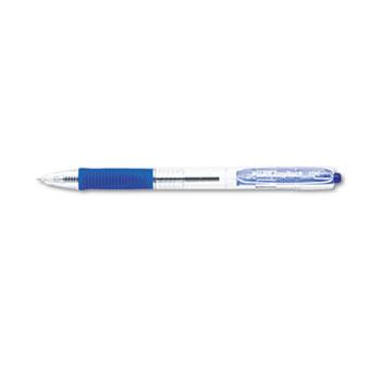Pilot® EasyTouch Retractable Ball Point Pen, Blue Ink, .7mm, Dozen