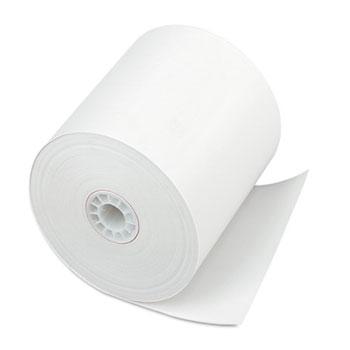 "Single Ply Thermal Cash Register/POS Rolls, 3"" x 225 ft., White, 24/Ctn"