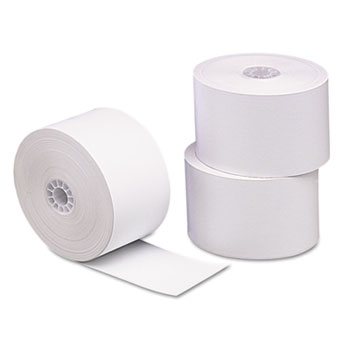 "Single Ply Thermal Cash Register/POS Rolls, 1 3/4"" x 230 ft., White, 10/Pk"