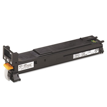 Konica Minolta A06V133 High-Yield Toner, 12000 Page-Yield, Black