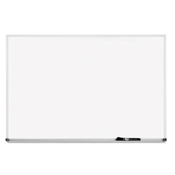 Dry-Erase Board, Melamine Surface, 48 x 36, Silver Aluminum Frame