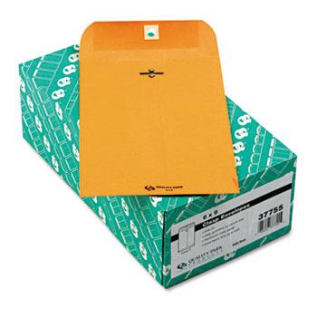 "6"" x 9"" Clasp Envelopes, Extra Heavy 32 lb. Brown Kraft, 100/BX."
