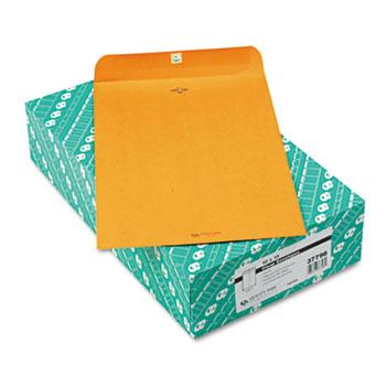 Quality Park™ Clasp Envelope, 10 x 15, 32lb, Brown Kraft, 100/Box