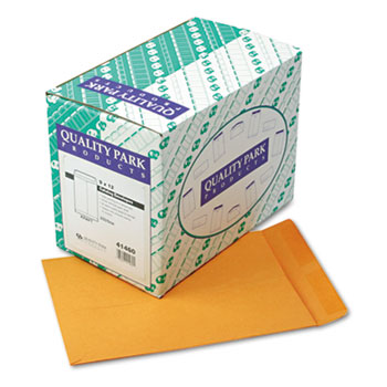 Quality Park™ Catalog Envelope, 9 x 12, Brown Kraft, 250/Box