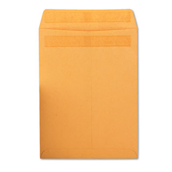 Redi-Seal Catalog Envelope, 6 x 9, Brown Kraft, 100/Box