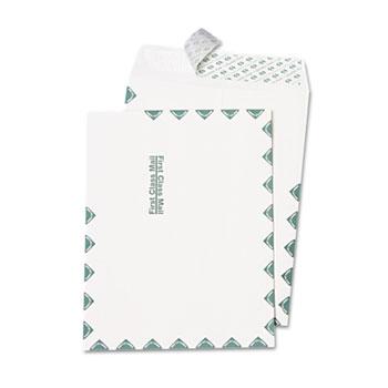 Quality Park™ Redi Strip Catalog Envelope, First Class, 10 x 13, White, 100/Box