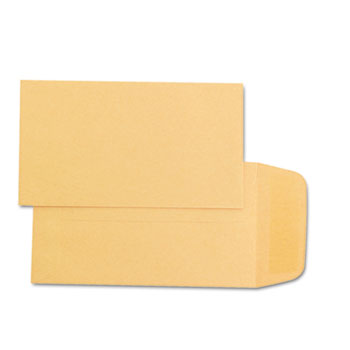 Quality Park™ Kraft Coin & Small Parts Envelope, Side Seam, #1, Brown Kraft, 500/Box