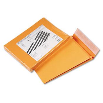 Quality Park™ Redi-Strip Kraft Expansion Envelope, Side Seam, 10 x 13 x 2, Brown, 25/Pack