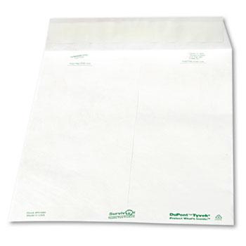 Tyvek Mailer, Side Seam, 10 x 13, White, 100/Box