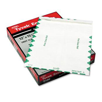 Survivor® Tyvek USPS First Class Mailer, Side Seam, 12 x 15 1/2, White, 100/Box