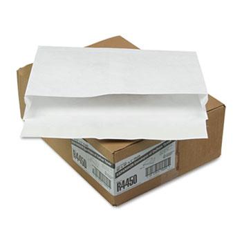 Tyvek Expansion Mailer, 10 x 15 x 2, White, 18lb, 100/Carton