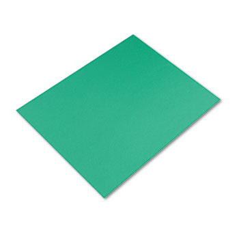 Pacon® Colored Four-Ply Poster Board, 28 x 22, Holiday Green, 25/Carton