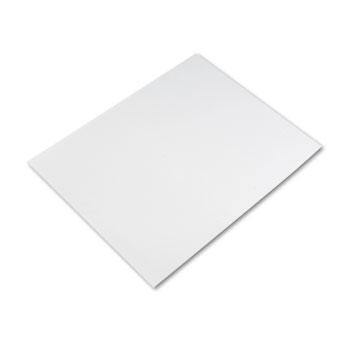 Pacon® Four-Ply Poster Board, 28 x 22, White, 25/Carton