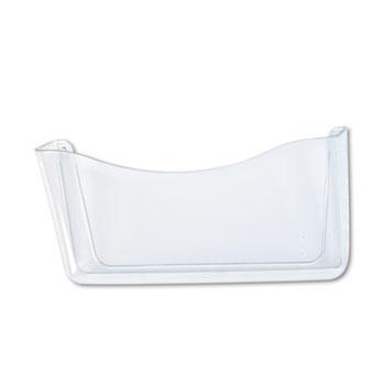 Unbreakable Single Pocket Wall File, Letter, Clear