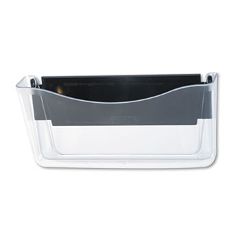 Rubbermaid® Unbreakable Magnetic Wall File, A4/Letter, Clear