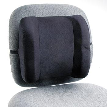 Safco® Remedease High Profile Backrest,123/4w x 4d x 13h, Black