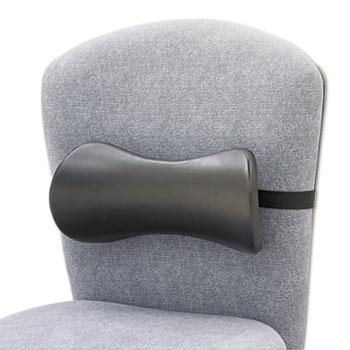 Safco® Lumbar Support Memory Foam Backrest, 14-1/2w x 3-3/4d x 6-3/4h, Black