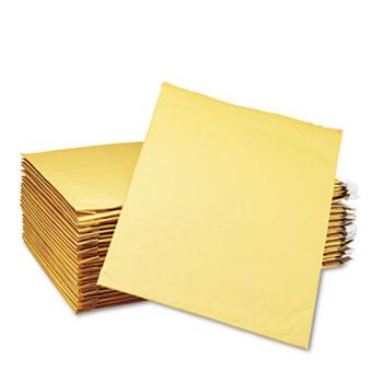 Jiffy Padded Self-Seal Mailer, Side Seam, #6, 12 1/2x19, Golden Brown,25/Carton